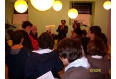 Workshop Desafia o que há em Ti.  Dinamizador Nuno Esteves Local Viagem das Letras