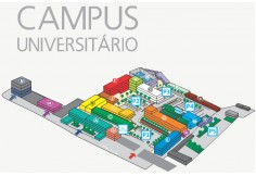 Planta do Campus da Universidade Lusófona